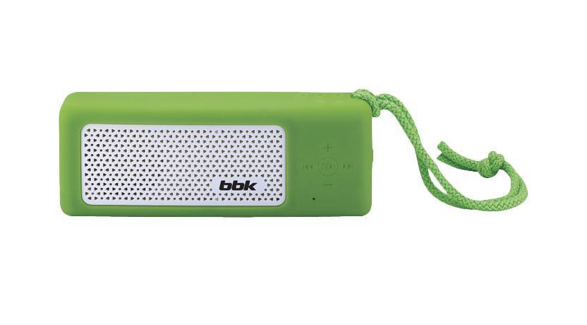 BBK BTA190, Green акустическая системаBTA190Представляем вам новый продукт Компании BBK - современную акустическую систему BTA190. Компактная и функциональная, она станет надежным помощником дома, а также незаменимым спутником в любой поездке! Достаточно подсоединить через линейный вход AUX IN, USB2.0-порт или посредством Bluetooth – смартфон, планшет, компьютер или любое другое устройство, и можно вдоволь наслаждаться творчеством любимых исполнителей. Наличие функции громкой связи позволит использовать устройство в качестве гарнитуры для максимально удобного и свободного общения. Встроенный аккумулятор обеспечит не только автономную работу акустической системы, но и подойдет в качестве зарядного устройства, например для MP3-плеера. Странствовать по волнам радиостанций и выбирать музыку для своего настроения поможет цифровой FM-тюнер. Встроенный яркий LED-фонарик пригодится как на природе, так и в каменных джунглях большого города. Для поклонников велоспорта предусмотрено специальное крепление.