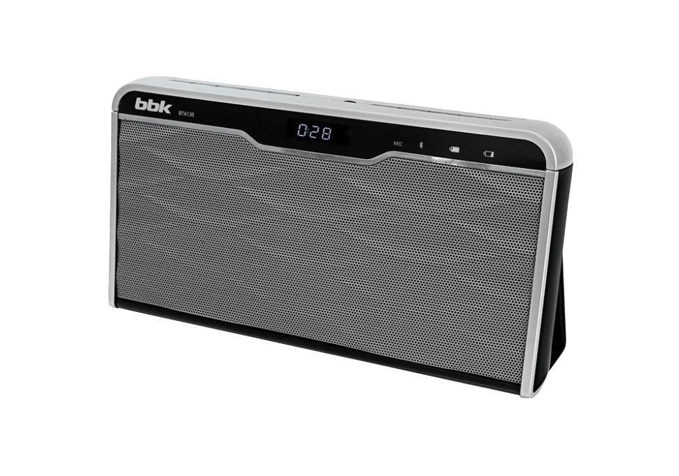 BBK BTA130, Black Silver акустическая система bbk портативная акустика