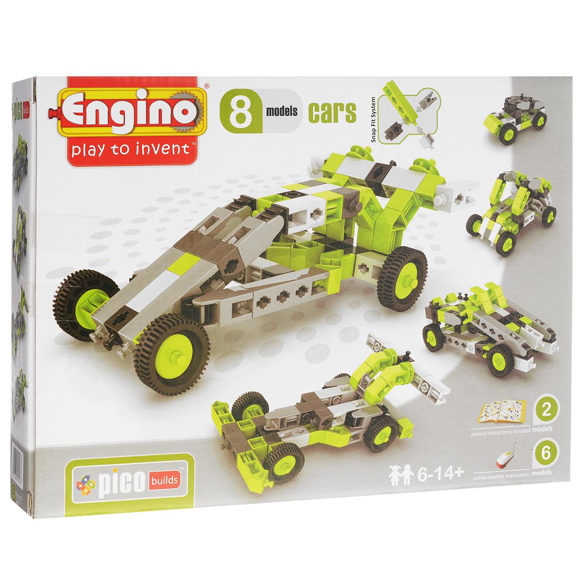 Конструктор Engino Cars, 69 элементов engino конструктор inventor приключения 170 элементов