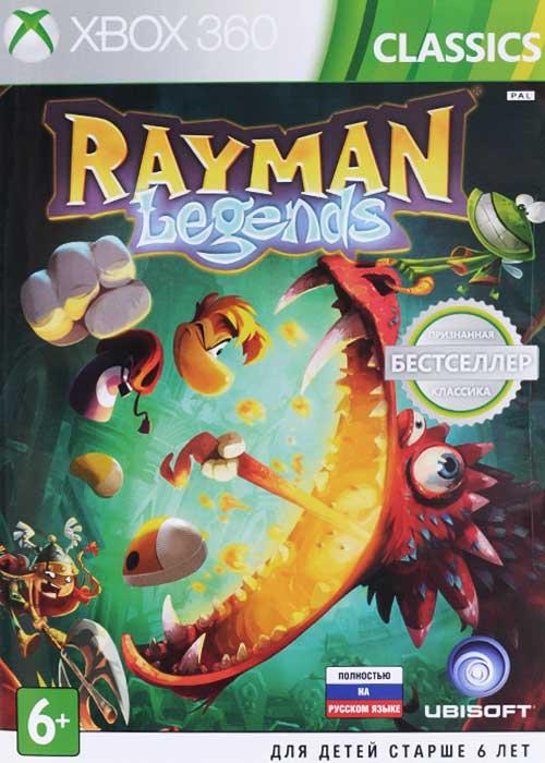 Rayman Legends. Classics (Xbox 360) rayman legends xbox one