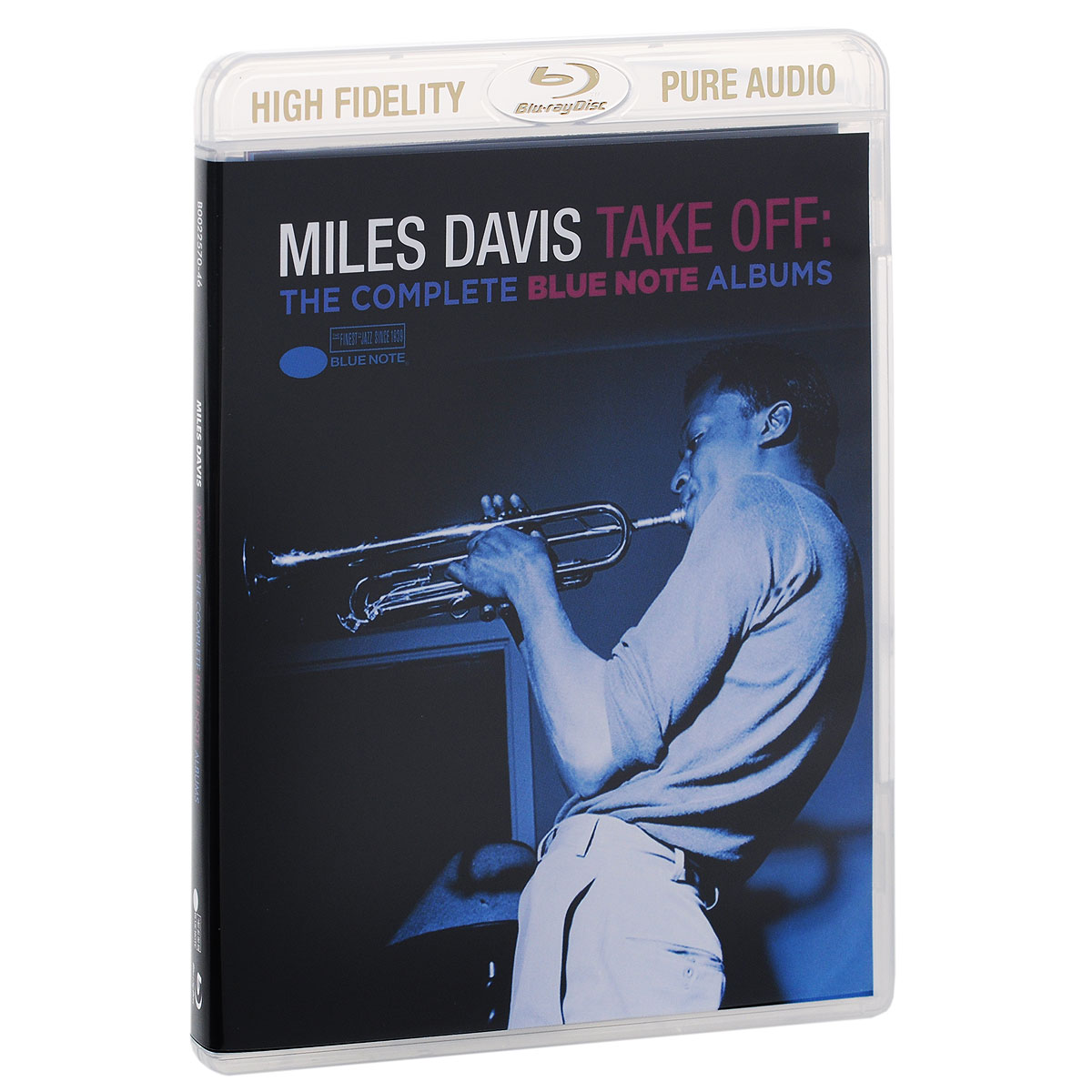 Miles Davis. Take Off. The Complete Blue Note Albums (Blu-ray Audio)