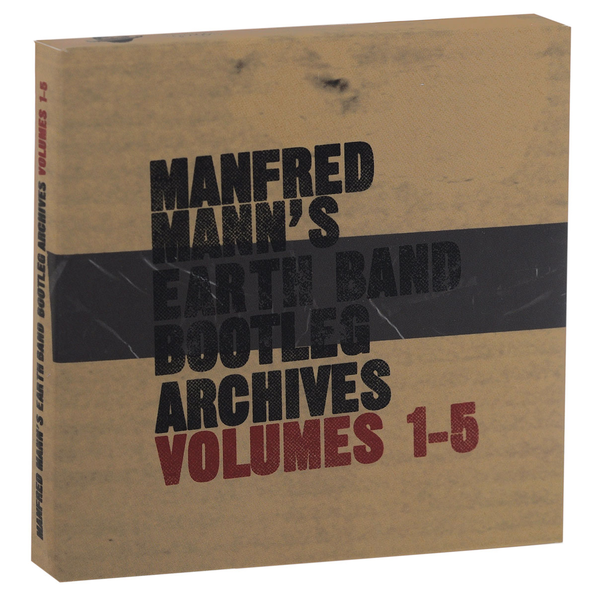 """Manfred Mann's Earth Band"" Manfred Mann's Earth Band. Bootleg Archives. Volume 1 - 5 (5 CD)"