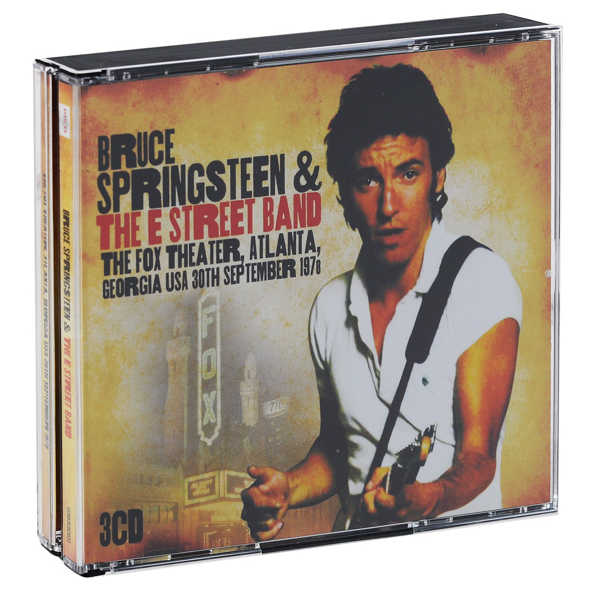 Bruce Springsteen & The Street Band. The Fox Theater, Atlanta, Georgia, USA, 30th September, 1978 (3 CD)