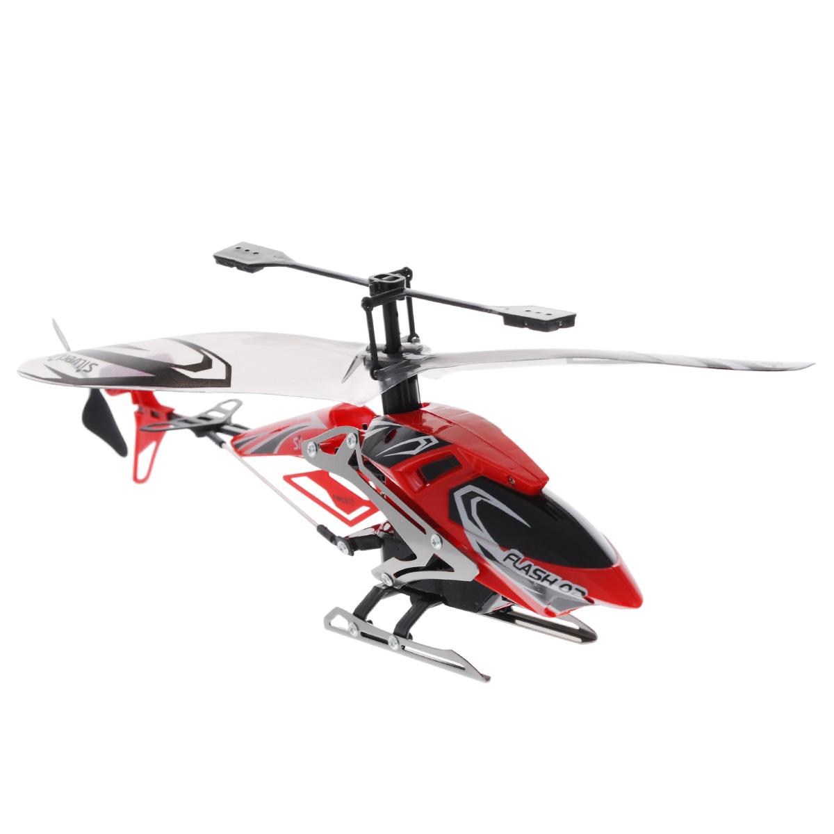 Silverlit Вертолет на радиоуправлении Штурмовик цвет красный игрушка silverlit икс булл te170