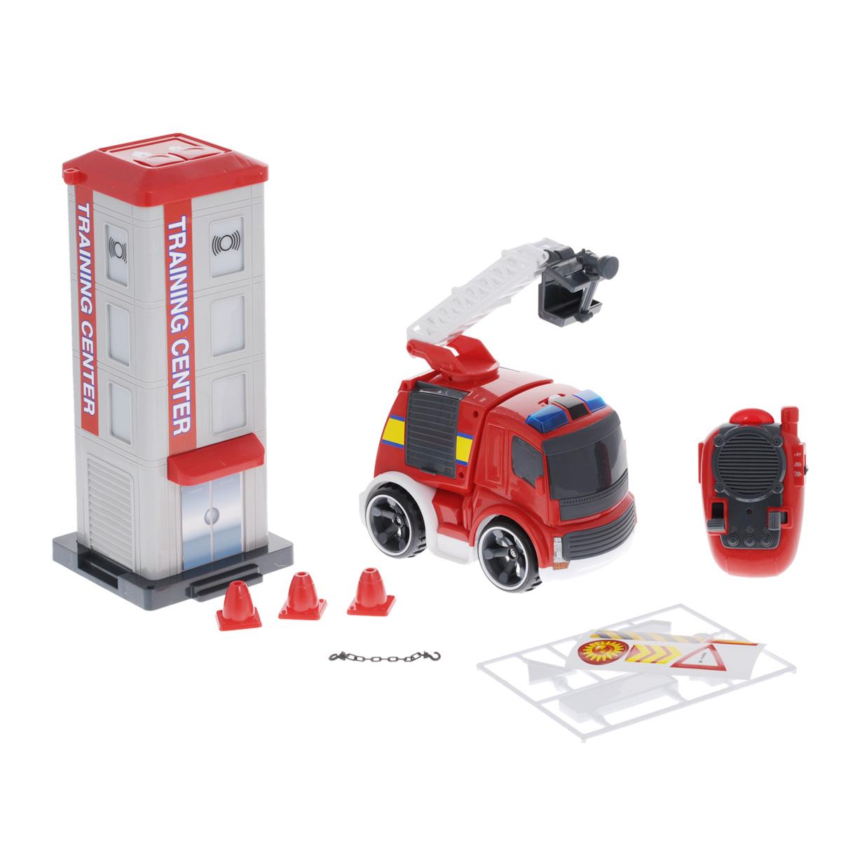 Silverlit Игровой набор на радиоуправлении Потуши горящее здание - Радиоуправляемые игрушки