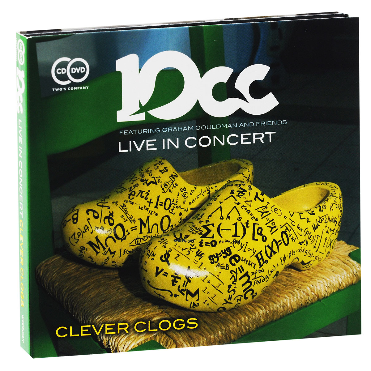 10 CC 10CC. Live In Concert. Clever Clogs (CD + DVD) magnum live in concert