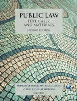 Public Law: Text, Cases, and Materials public law text cases and materials
