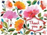 Kim Parker Floral Thank You.