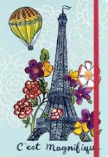 C'est Magnifique: Molly Hatch Paris Essential Everyday Journal roomble панно eiffel tower paris