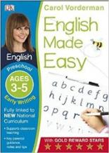 English Made Easy: Early Writing Preschool Ages 3-5