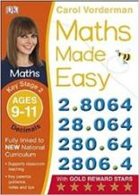 Maths Made Easy: Decimals Ages 9-11 Key Stage 2 spelling today ages 8 9