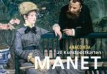 Edouard Manet Postkartenbuch nathalia brodskaya manet