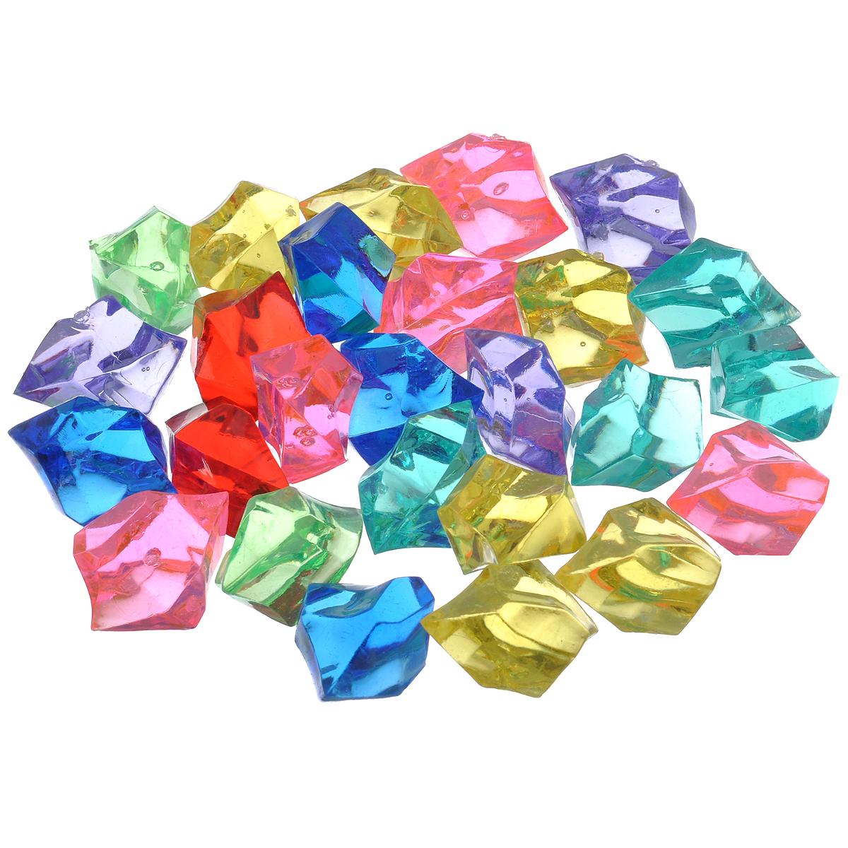 Набор декоративных кристаллов Большие камни. Ассорти, 70 гGA 1002Набор декоративных кристаллов Большие камни. Ассорти, выполненный из пластика, замечательно подойдет для украшения вашего дома. Его можно использовать для создания индивидуального интерьера, а так же как наполнитель декоративных ваз. Декоративные кристаллы создают чувство уюта и улучшают настроение.Вес упаковки: 70 г.Средний размер кристалла: 3,2 см х 2 см х 2,4 см.