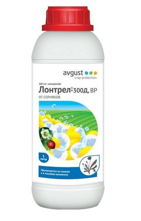 Средство от сорняков  Лонтрел-300Д , 1000 мл - Грунт и удобрения