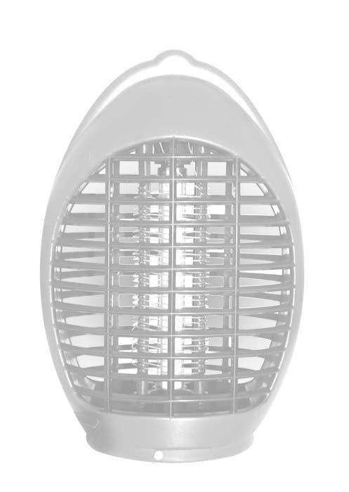 Лампа-ловушка для уничтожения летающих насекомых Help, для дома - Защита от вредителей