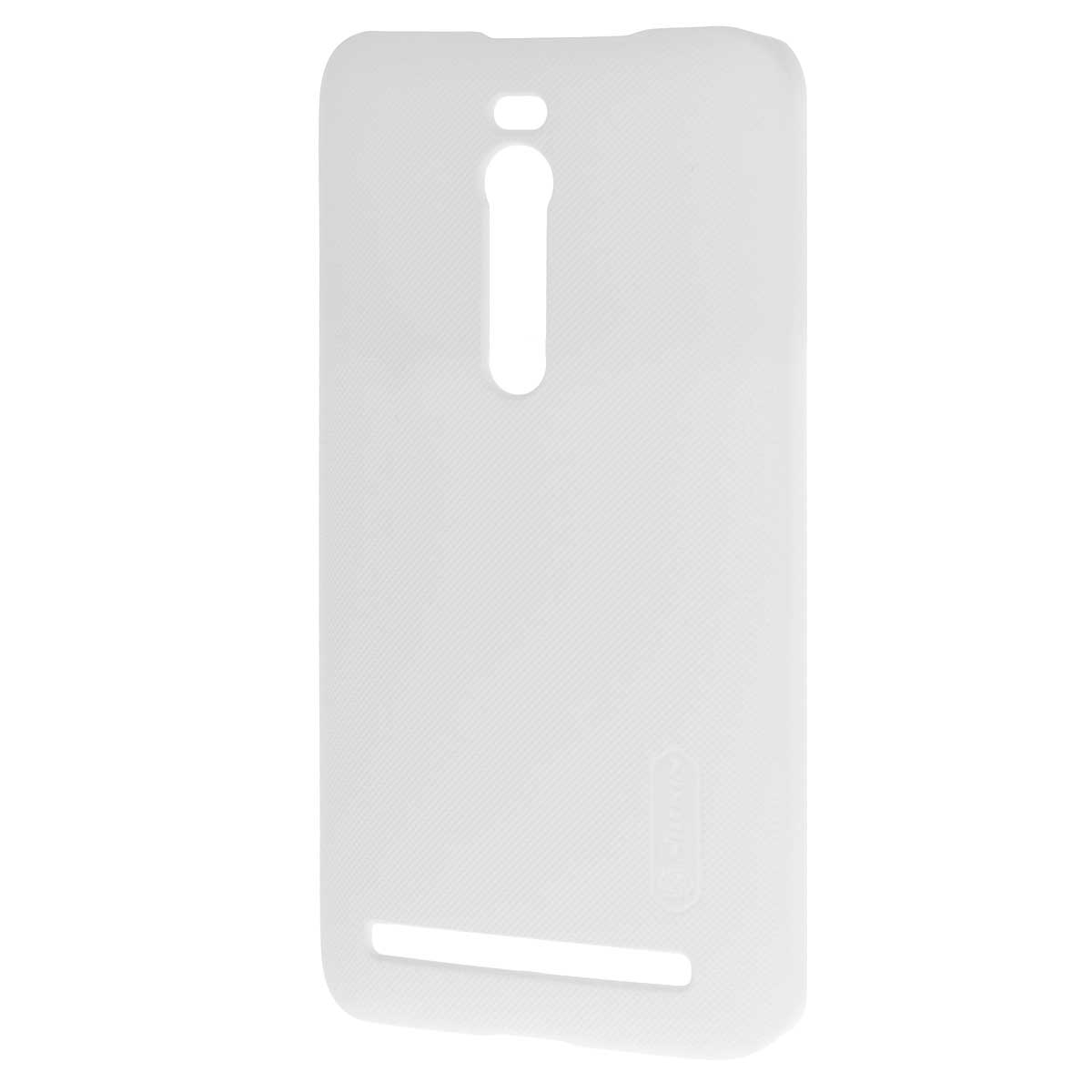 Nillkin Super Frosted Shield чехол для Asus ZenFone 2 (ZE551ML/ZE550ML), White чехол для смартфона htc desire 700 7088 nillkin super frosted shield черный