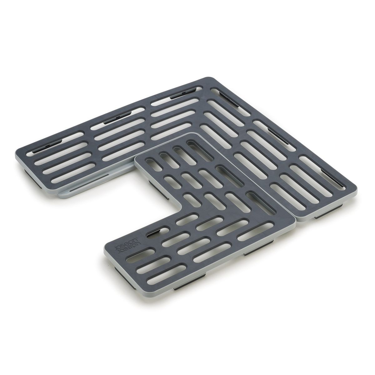 подложки для раковины proffi решетка для раковины галька пвх 32 26 см Подложка для раковины Joseph Joseph SinkSaver, цвет: серый, белый