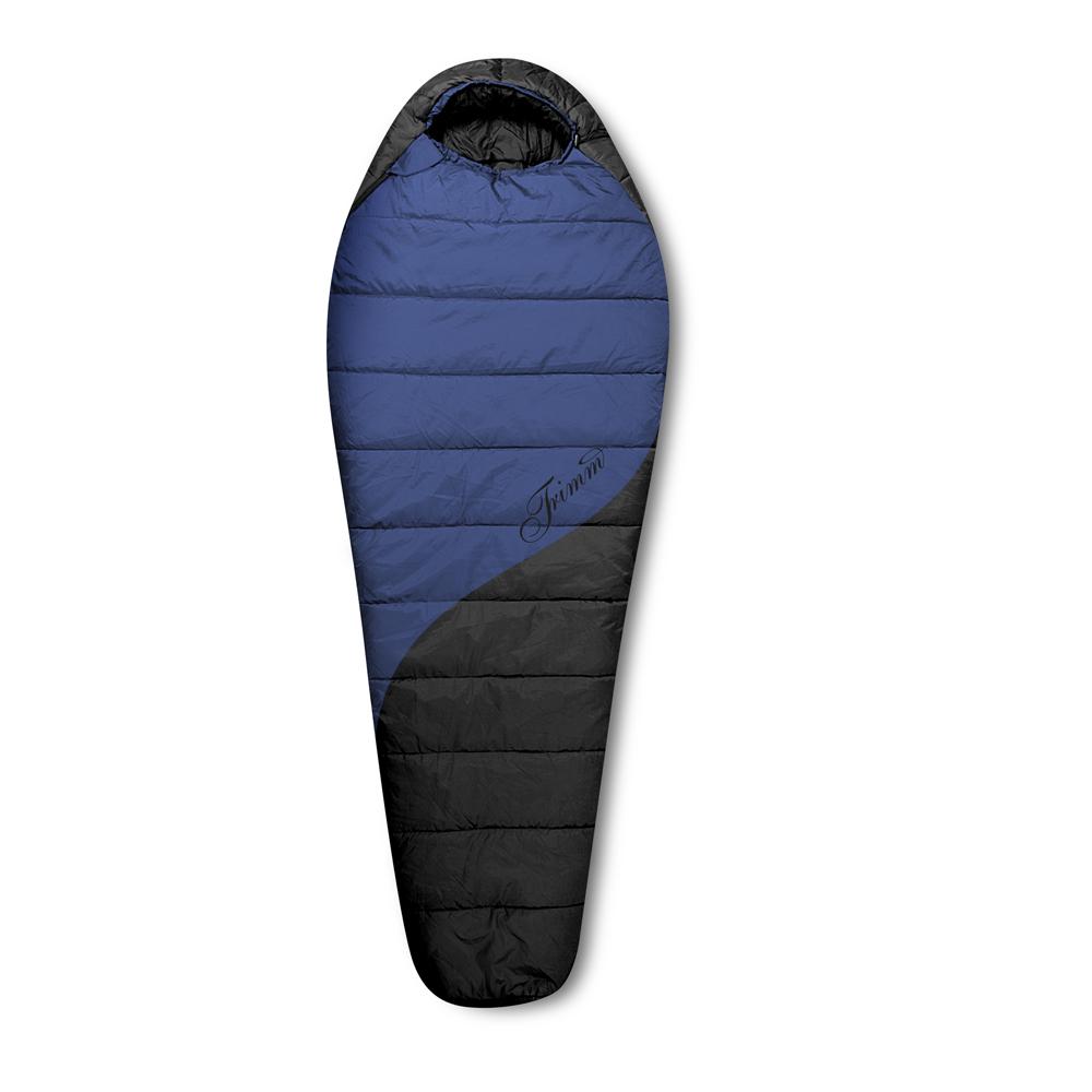 Спальный мешок Trimm Balance, правосторонняя молния, цвет: синий cпальный мешок trimm viper 195 r green 47887