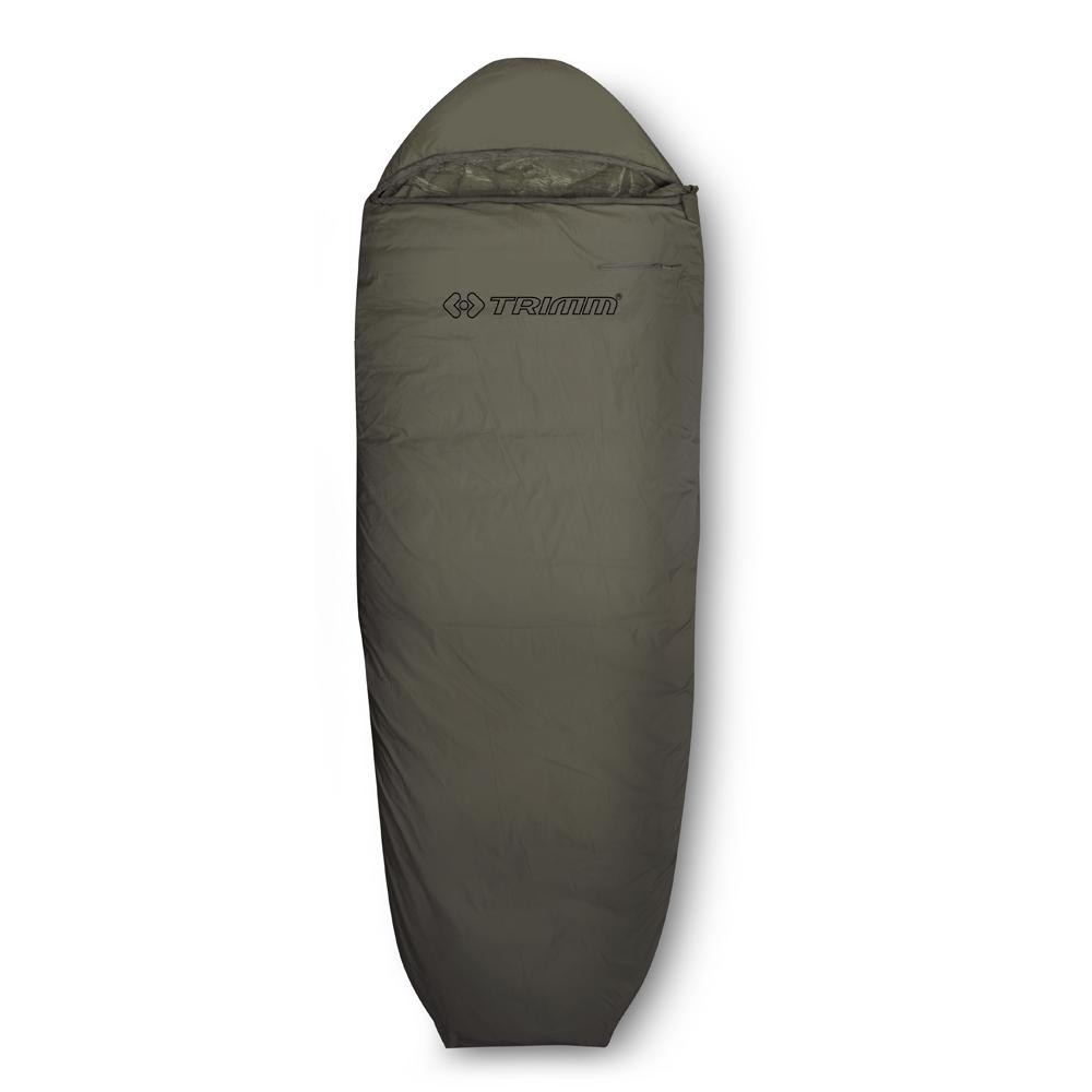 Спальный мешок Trimm Scout, правосторонняя молния, цвет: хаки cпальный мешок trimm walker 185 r red 50191