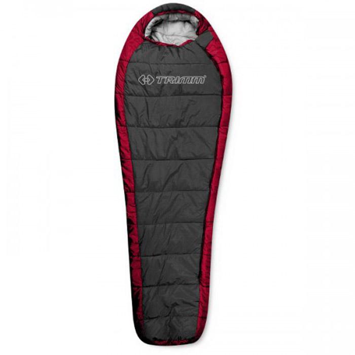 Спальный мешок Trimm Highlander, левосторонняя молния, цвет: красный cпальный мешок trimm viper 195 r green 47887