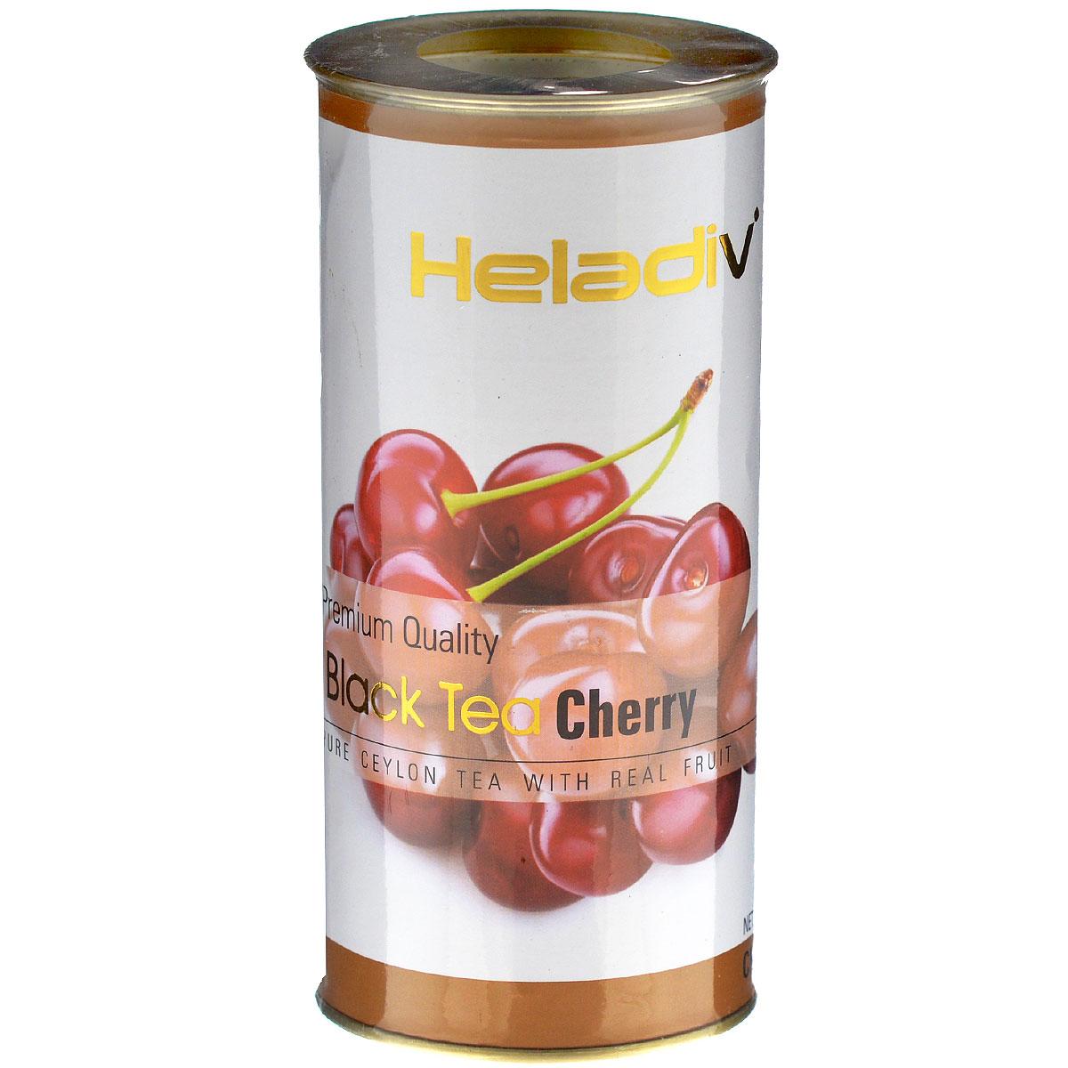 Heladiv Cherry черный фруктовый чай с вишней, 100 г гринфилд чай фруктовый