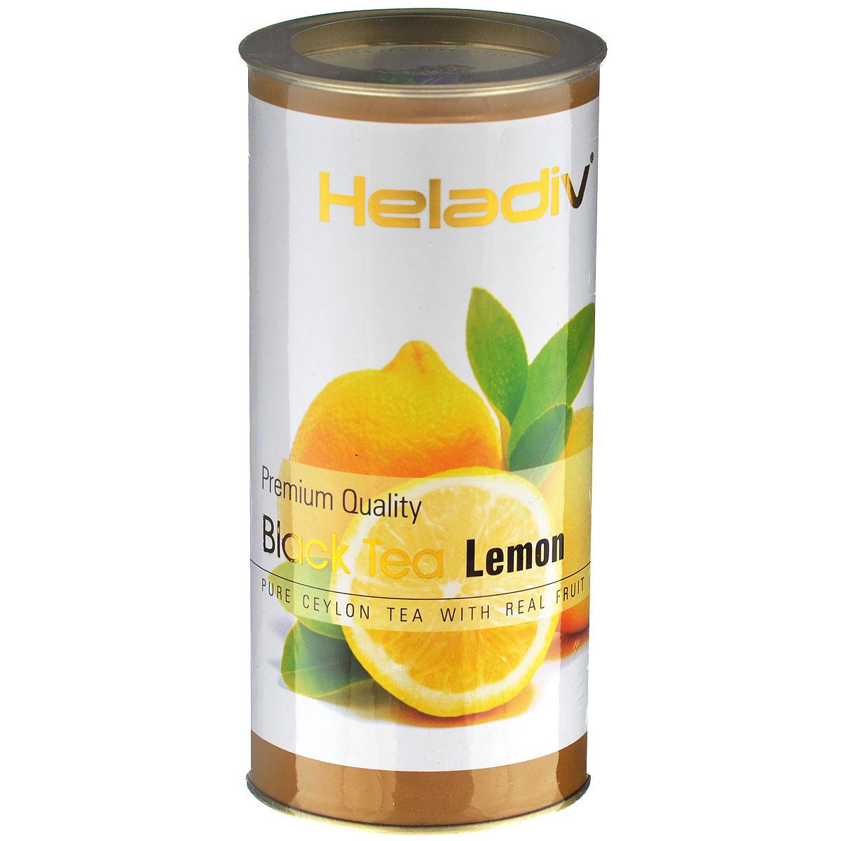 Heladiv Lemon черный фруктовый чай с лимоном, 100 г heladiv opa
