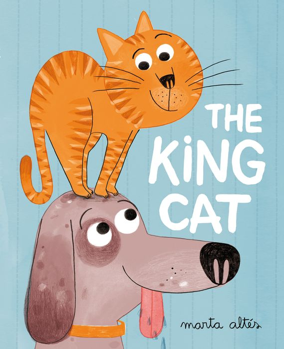 The King Cat a cat a hat and a piece of string