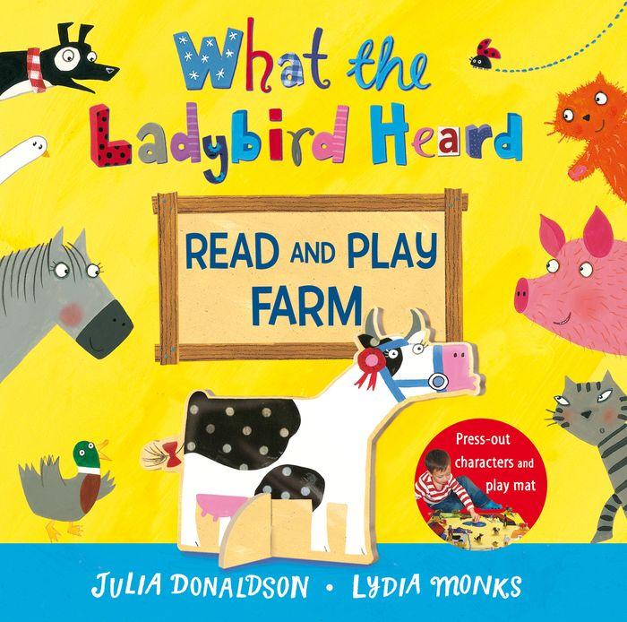 What the Ladybird Heard Read and Play Farm what the ladybird heard animal noises jigsaw book