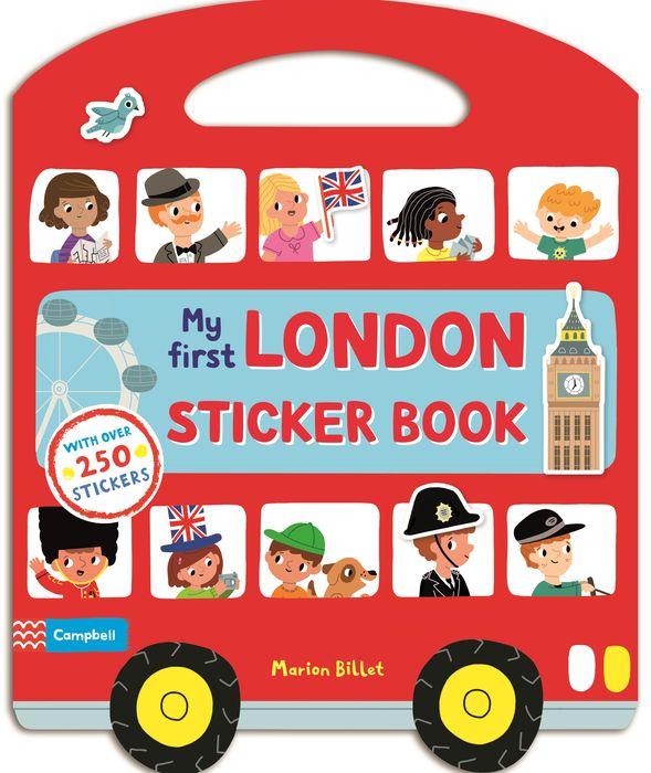My First London Sticker Book first sticker book cities of the world
