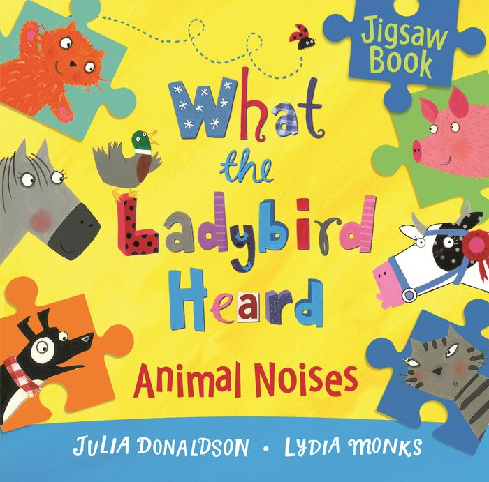 What the Ladybird Heard: Animal Noises Jigsaw Book animal traction in the fadama