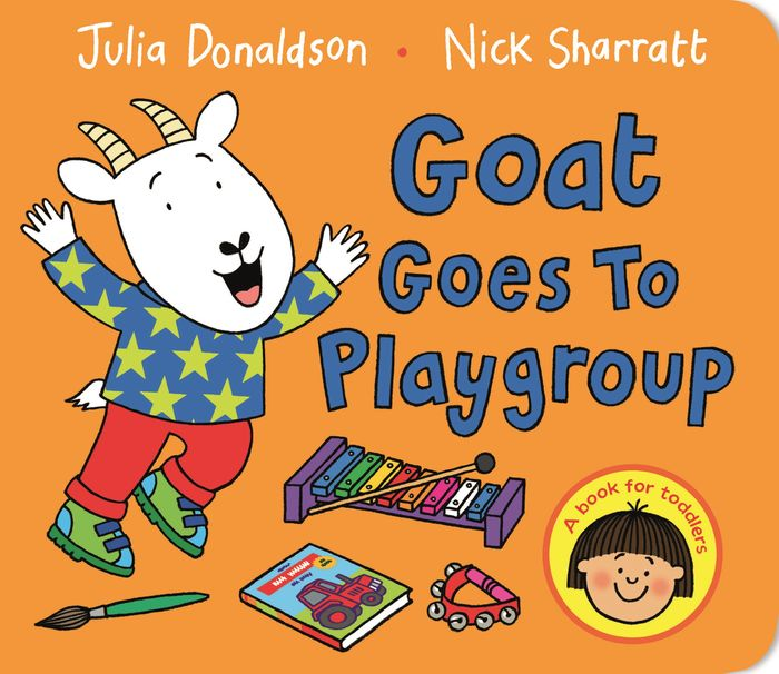Goat Goes to Playgroup george s first day at playgroup sticker story book