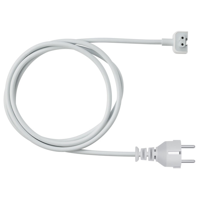 Apple Power Adapter Extension Cable удлинитель для адаптера питания (MK122Z/A) usb 2 0 male to female extension cable purple 1 5m