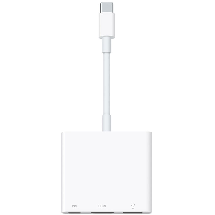 Apple USB-C AV Multiport адаптер (MJ1K2ZM/A) microsoft wireless display adapter v2 беспроводной usb hdmi адаптер