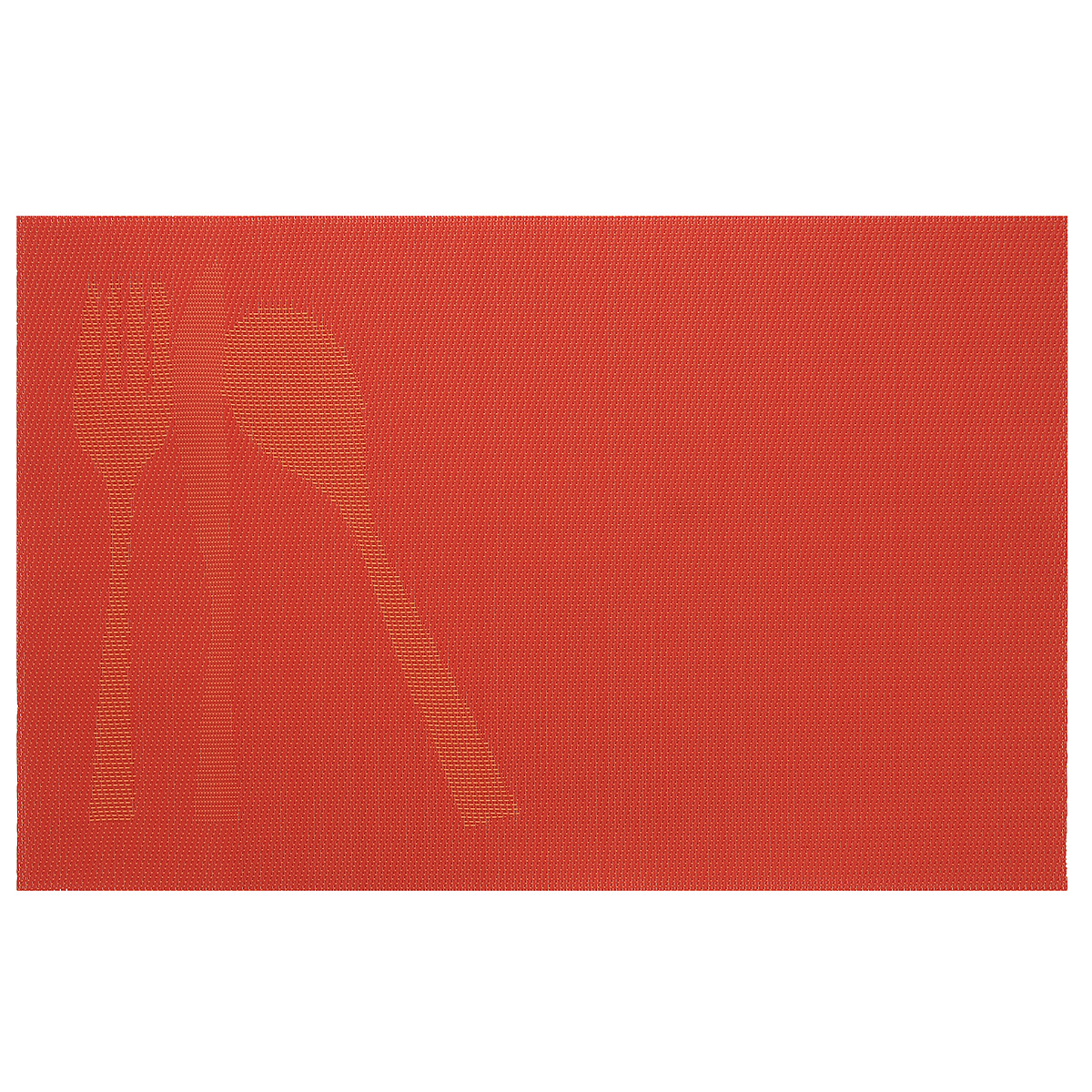 Подставка под горячее Amadeus, цвет: оранжевый, 44 х 29 см 28HZ-908528HZ-9085Прямоугольная подставка под горячее Amadeus выполнена из мягкого пластика и декорирована рисунком с изображением столовых приборов. Подставка не боится высоких температур и легко чистится от пятен и жира.Каждая хозяйка знает, что подставка под горячее - это незаменимый и очень полезный аксессуар на каждой кухне. Ваш стол будет не только украшен оригинальной подставкой с красивым рисунком, но и сбережен от воздействия высоких температур ваших кулинарных шедевров.Размер подставки: 44 см х 29 см.