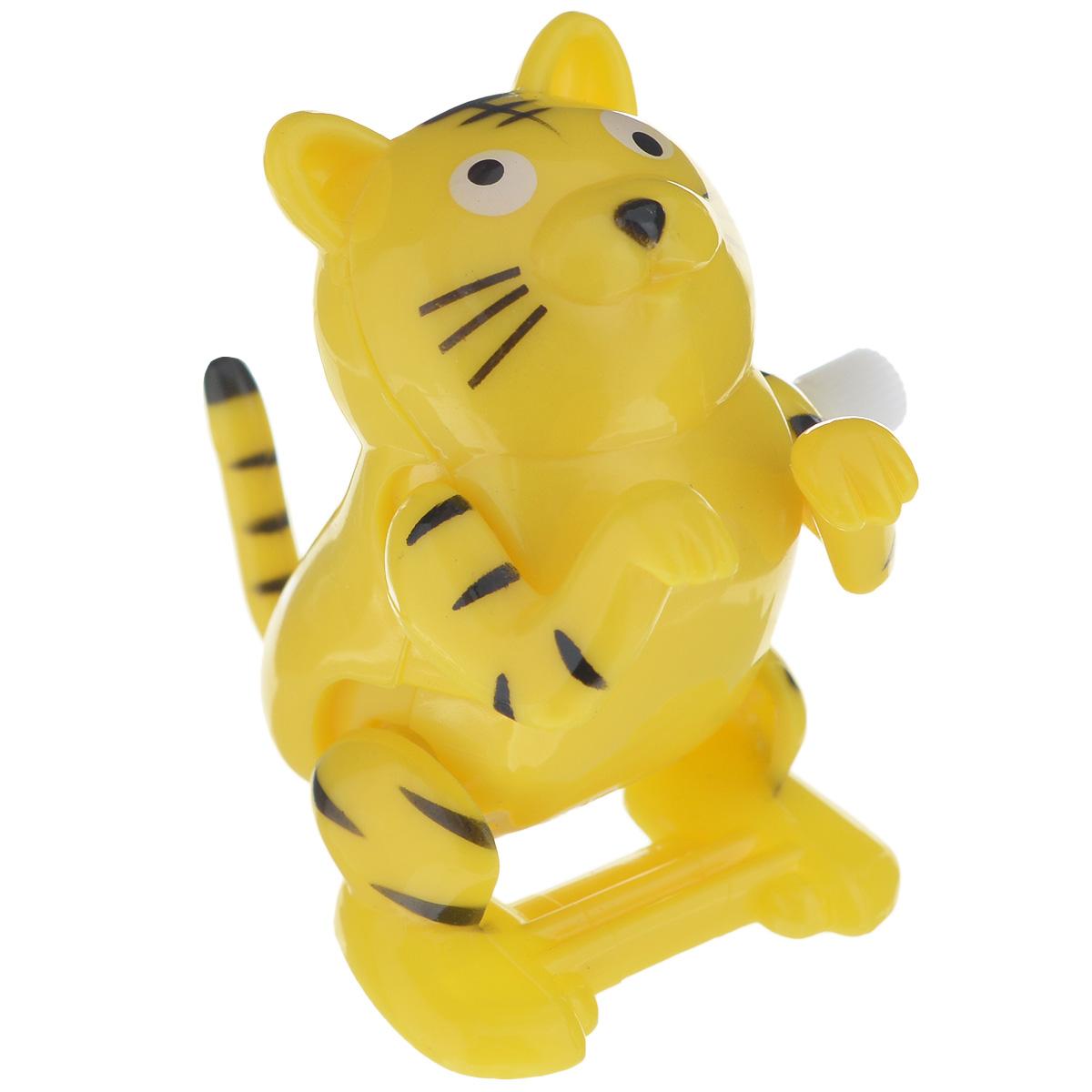 Игрушка заводная Прыгающие питомцы. Тигр плэйгро 182256 игрушка погрем тигр