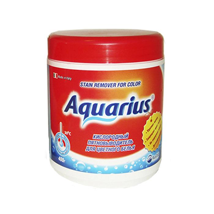 Пятновыводитель для цветного белья Lotta Aquarius, кислородный, 400 г пятновыводитель для цветного белья lotta oxi кислородный 750 г