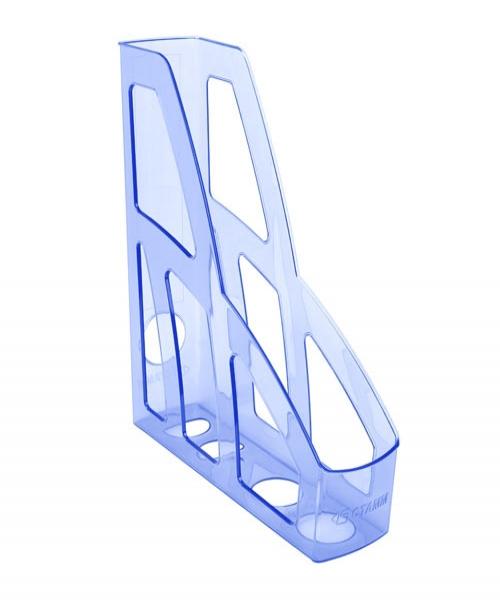 Лоток для бумаг вертикальный Стамм  Лидер , цвет: голубой. ЛТ125 - Лотки, подставки для бумаг