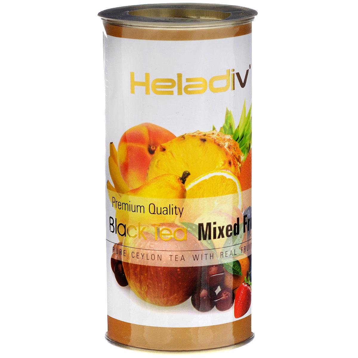 Heladiv Mixed Fruit черный фруктовый чай, 100 г4791007004936Heladiv Mixed Fruit - настоящий цейлонский черный чай с натуральным ароматизатором фруктовый микс.