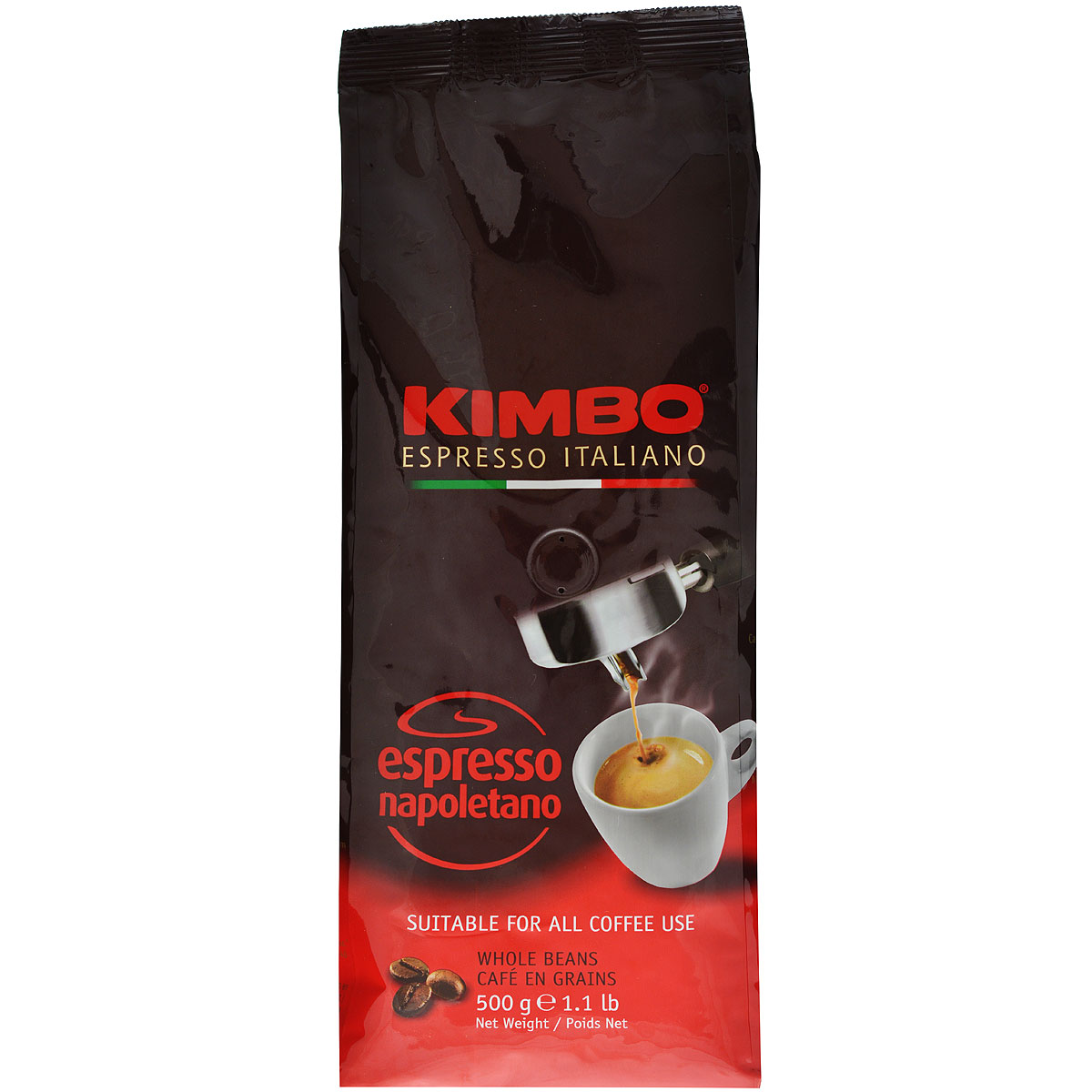 Kimbo Espresso Napoletano кофе в зернах, 500 г8002200602130