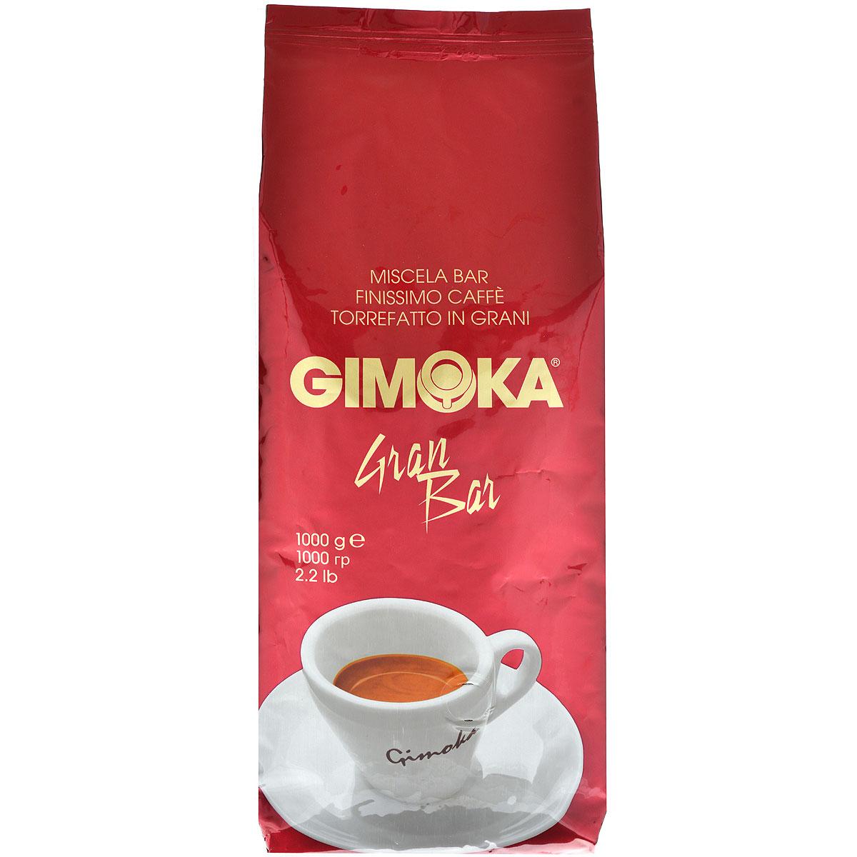 Gimoka Rossa Gran Bar кофе в зернах, 1 кг блузка moda rossa