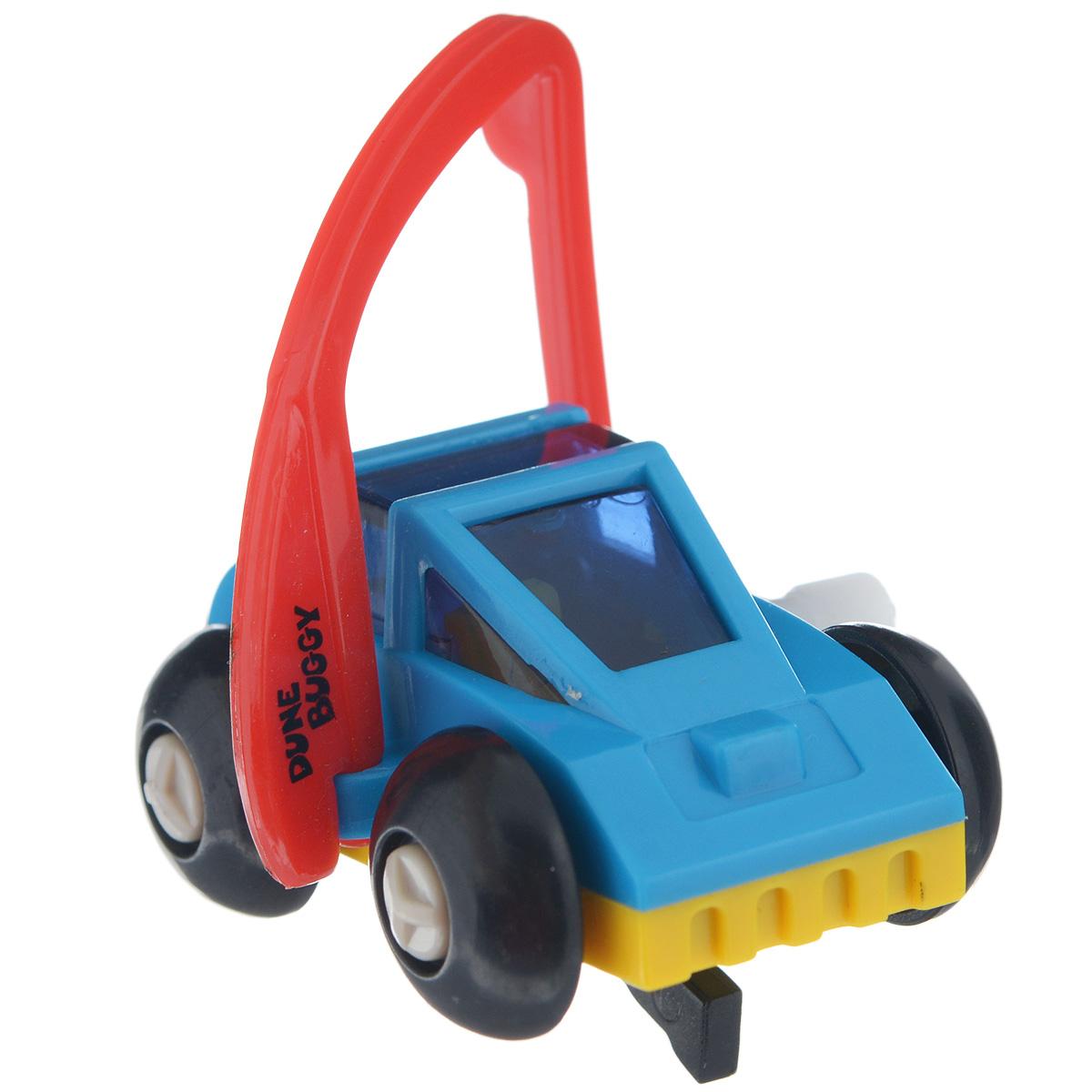 Игрушка заводная Багги, цвет: синий, красный форма волчок заводной цвет красный желтый синий