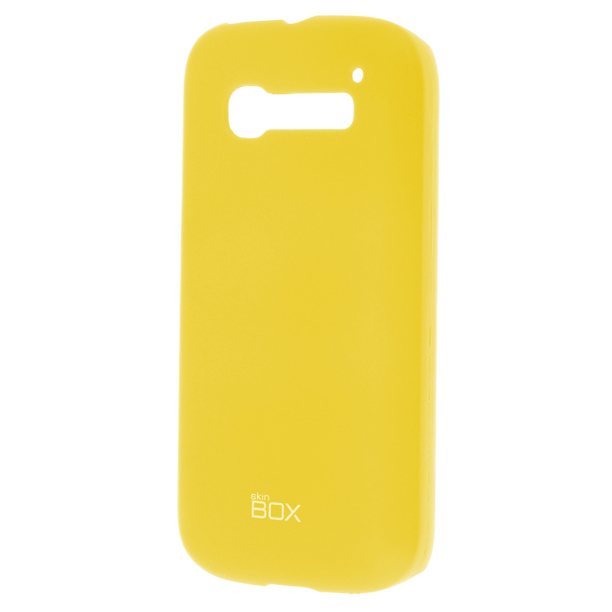 все цены на  Skinbox Shield 4People чехол для Alcatel 5036D С5, Yellow  онлайн
