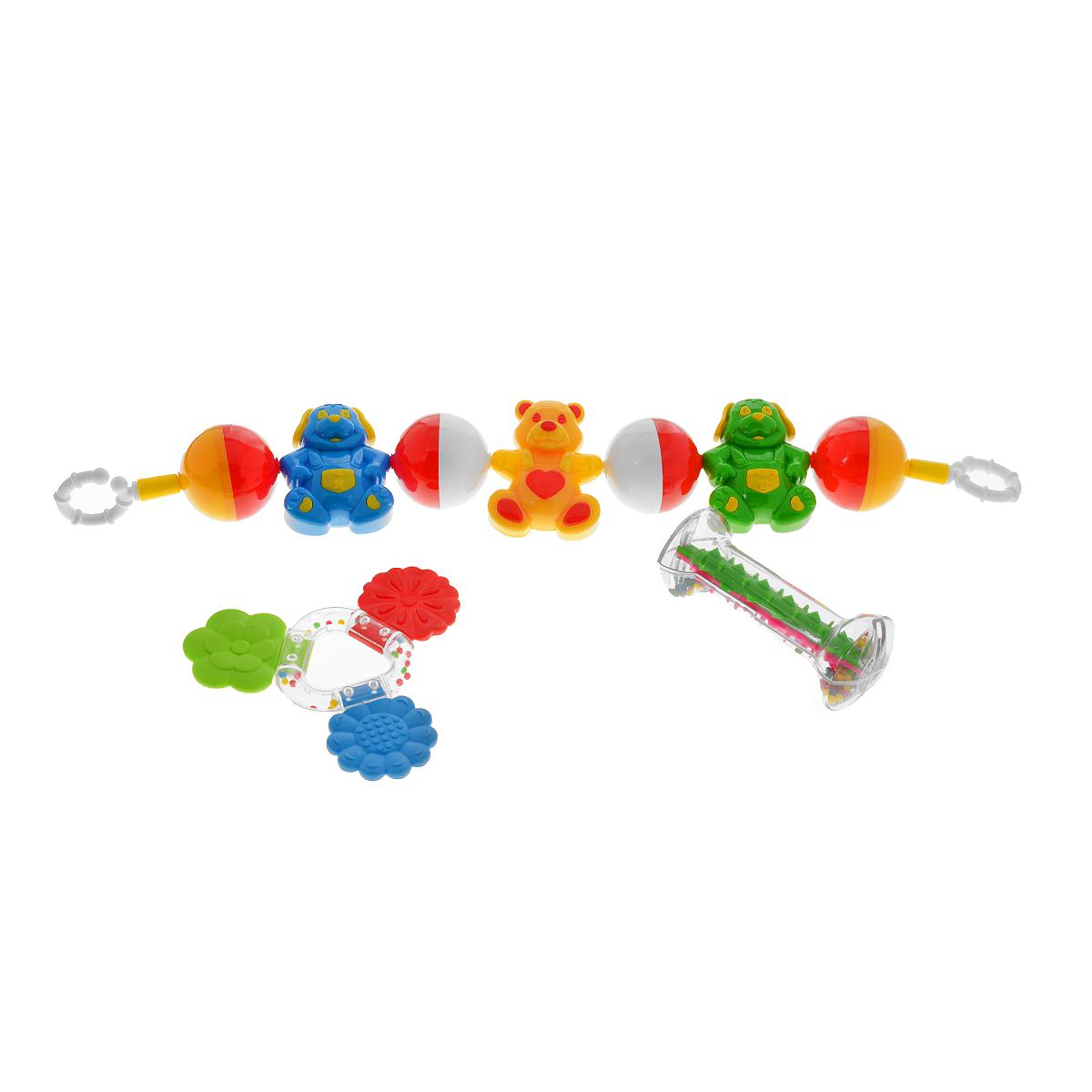 Подарочный набор Stellar Погремушки , цвет в ассортименте, Первые игрушки  - купить со скидкой