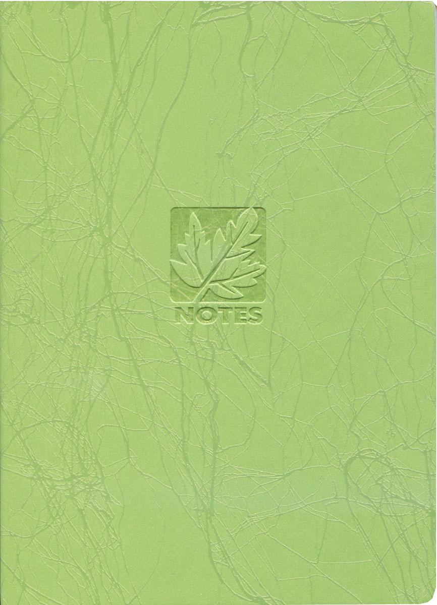 книга для записей, B6, SCRIBBLE, линейка, цвет: зеленый29805