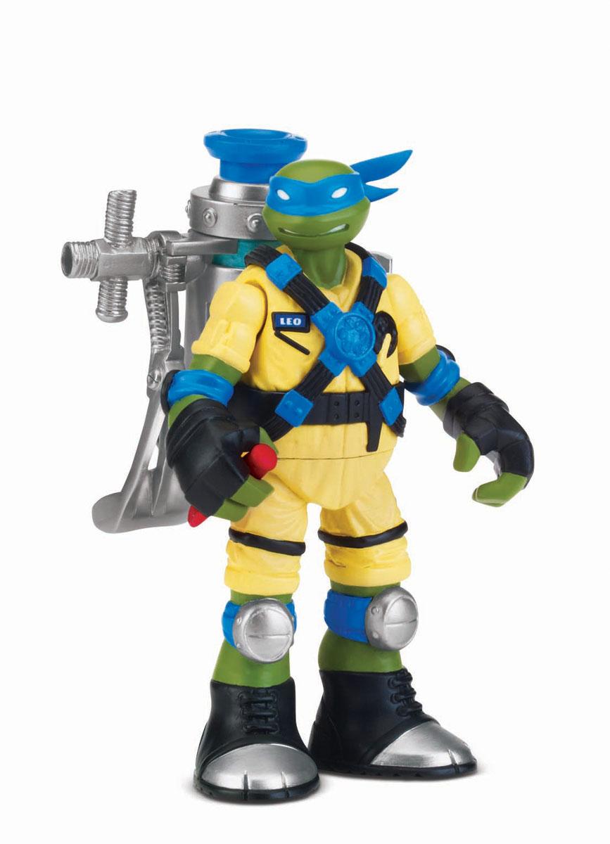 Фигурка Turtles Мутагенный Лео, 12 см игровые фигурки turtles машинка черепашки ниндзя 7 см сплинтер на атаке сенсея