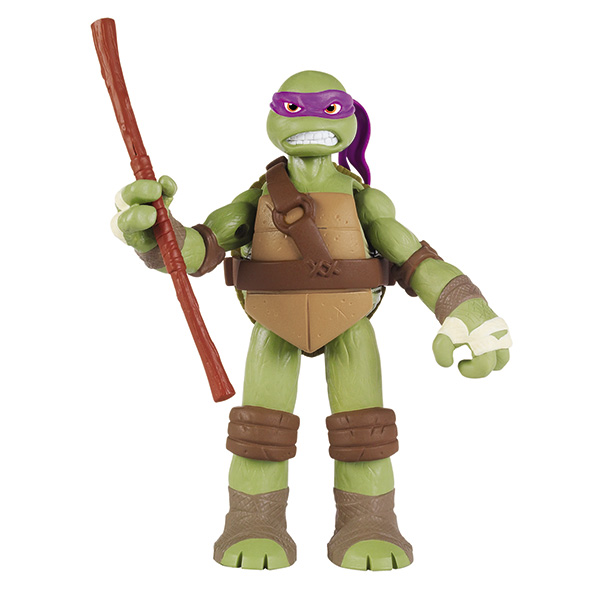 Фигурка Turtles Донателло, озвученная, 15 см игровой набор turtles боевое снаряжение черепашки ниндзя микеланджело 4 предмета
