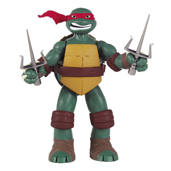 Фигурка Turtles Рафаэль, озвученная, 15 см игровой набор turtles боевое снаряжение черепашки ниндзя микеланджело 4 предмета