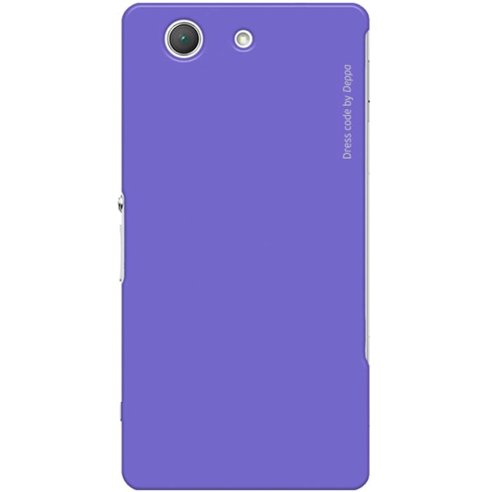 Deppa Air Case чехол для Sony Xperia Z3 Compact, Purple83143Чехол Deppa Air Case для Sony Xperia Z3 Compact предназначен для защиты корпуса смартфона от механических повреждений и царапин в процессе эксплуатации. Имеется свободный доступ ко всем разъемам и кнопкам устройства. Чехол изготовлен из поликарбоната Teijin производства Японии с покрытием Soft touch.