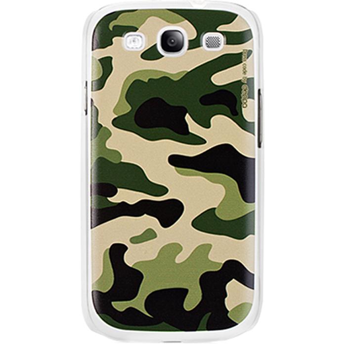 Deppa Military Case чехол для Samsung Galaxy SIII, Green