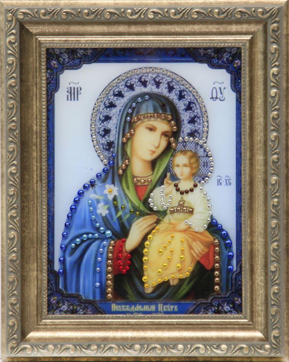 1617 Икона Неувядаемый цвет1617стекло, хрусталь, пластик. 20,3х25,3